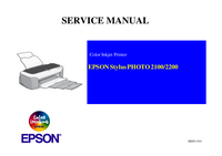 Servicehandboek Epson Stylus Photo 2100