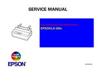 Manual de servicio Epson LX-300+