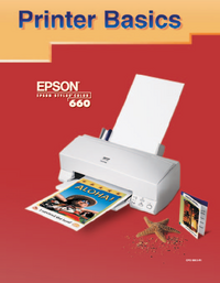 User Manual Epson Stylus Color 660