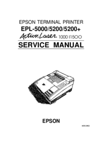 Service Manual Epson Action Laser 1500
