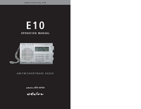 Bedienungsanleitung Eton E10