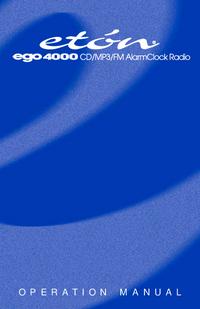 Руководство пользователя Eton ego 4000