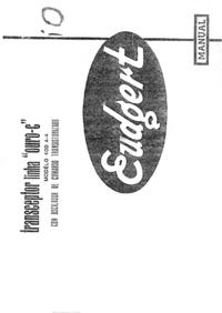 Service-en gebruikershandleiding Eudgert 400 A4