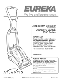 User Manual Eureka 2590
