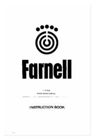 Service-en gebruikershandleiding Farnell LT 30