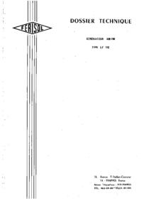 Service- und Bedienungsanleitung Ferisol LF 110