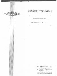 Servizio e manuale utente Ferisol SCF 200 A