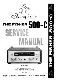 Service Manual Fisher 500-C