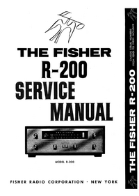 Service Manual Fisher R-200