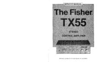 Servicehandboek Fisher TX-55