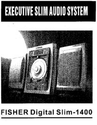 Руководство пользователя Fisher Digital Slim-1400