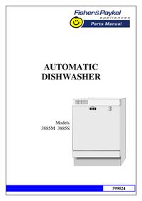 Manuale di servizio FisherPaykel 3885S