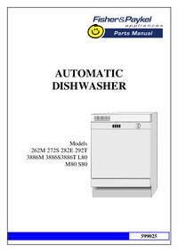 Manual de servicio FisherPaykel 3886M