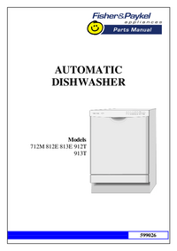 Service Manual FisherPaykel 812E