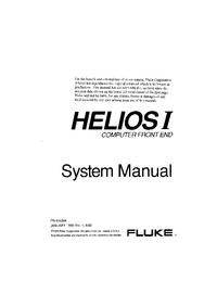 Service et Manuel de l'utilisateur Fluke Helios I