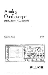 Manual de serviço Fluke PM3082