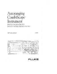 Manual del usuario Fluke PM3384A