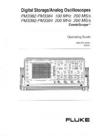 User Manual Fluke PM3382