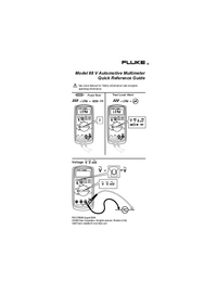 User Manual Fluke 88 V