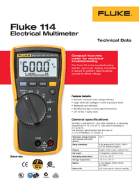 Fluke-6505-Manual-Page-1-Picture
