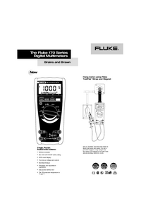 Fiche technique Fluke 170 Series