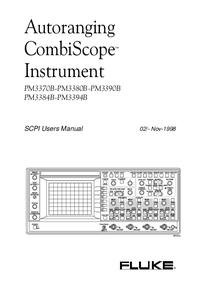 Manuale d'uso Fluke PM3370B