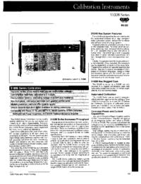 Datasheet Fluke 5100B