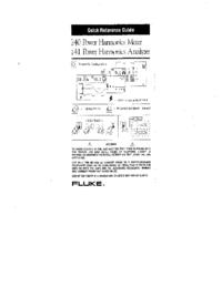 User Manual Fluke 40