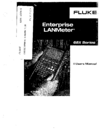 Manual del usuario Fluke 685