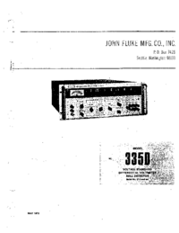 Manual del usuario Fluke 335D