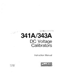 Servizio e manuale utente Fluke 343A