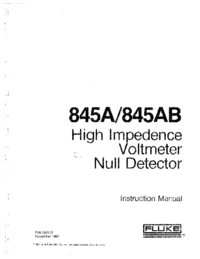 Manual del usuario Fluke 845AB