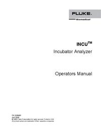 Manual do Usuário FlukeBio INCU