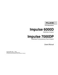 Руководство пользователя FlukeBio Impulse 6000D