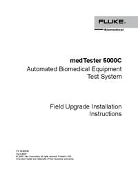 Instrukcja obsługi FlukeBio medTester 5000C