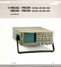 Service Manual FlukePhilips PM3392