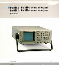Руководство по техническому обслуживанию FlukePhilips PM3392