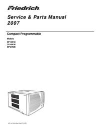manuel de réparation Friedrich CP14N10
