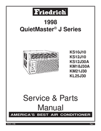 Service Manual Friedrich KL25J30