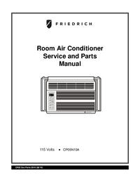 manuel de réparation Friedrich CP05N10A