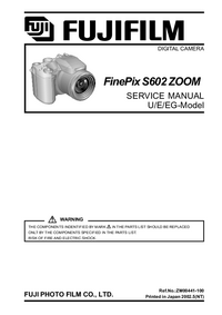 Service Manual FujiFilm FinePix S602 ZOOM