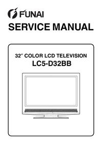Serviceanleitung Funai LC5-D32BB