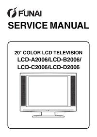 Serviceanleitung Funai LCD-D2006