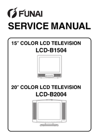 Service Manual Funai LCD-B2004