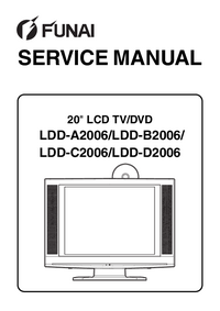 Service Manual Funai LDD-C2006