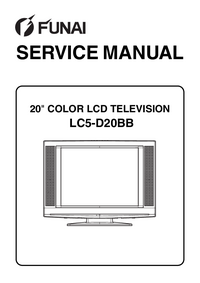 Manual de servicio Funai LC5-D20BB