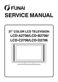 Manuale di servizio Funai LCD-C2706