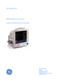 Manual del usuario GEHealthcare B30