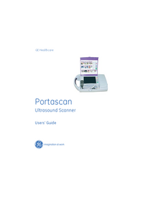 User Manual GEHealthcare Portascan