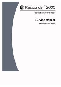 Servicehandboek GEMedical Responder 2000